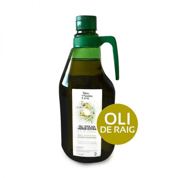 Oli de raig ecològic oliva arbequina 2L.