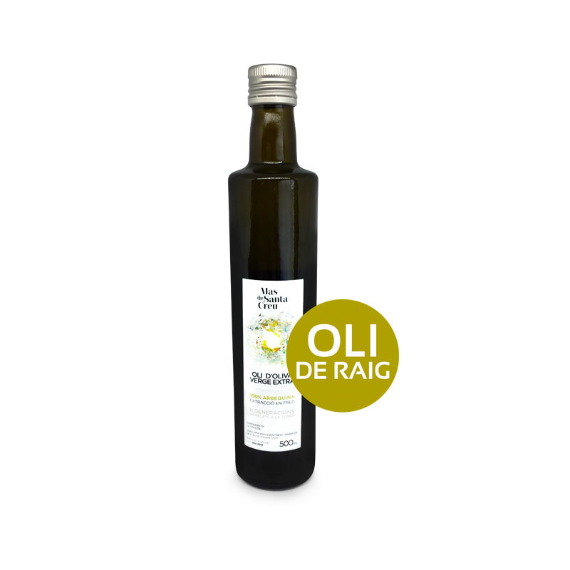 Oli de raig ecològic oliva arbequina verge extra 500ml